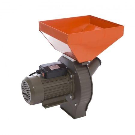 Moara Electrica Elefant 350E, 2850 rpm, 200 Kg max, 3500 W+DIspozitiv pentru lucerna porumb+Razatoare fructe si legume 1
