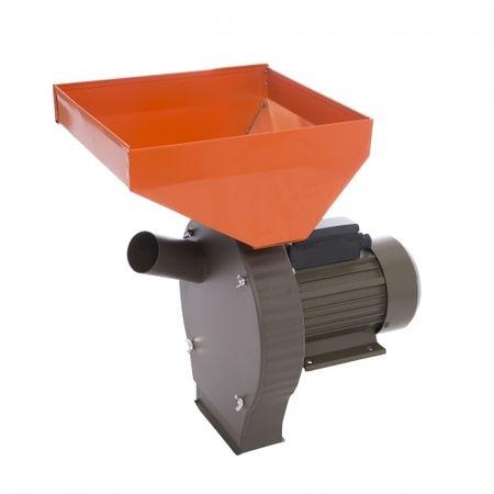 Moara Electrica Elefant 350E, 2850 rpm, 200 Kg max, 3500 W+DIspozitiv pentru lucerna porumb+Razatoare fructe si legume 0